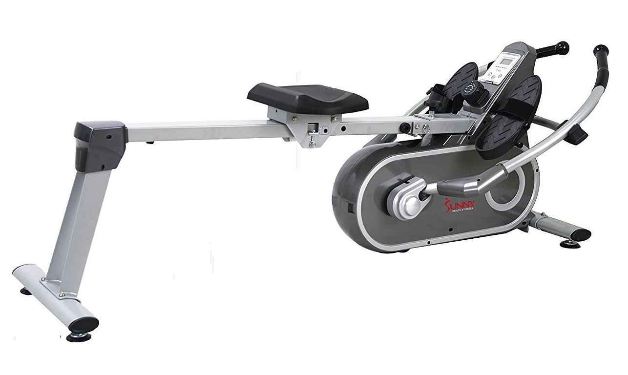 Sunny RW5624 Full Motion rowing machine - side view