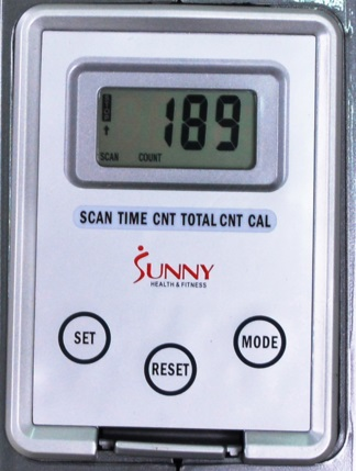 Sunny Health SF-RW5515  display