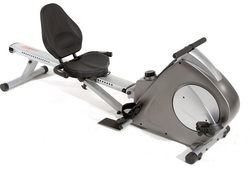 The Stamina Conversion II recumbent bike and rowing machine