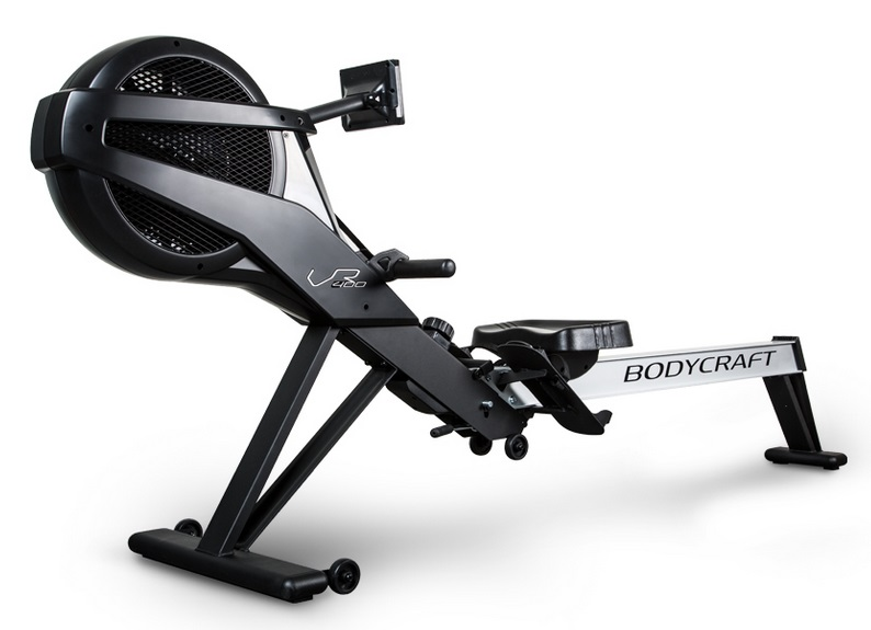 The BodyCraft VR400 Pro rowing machine - side view