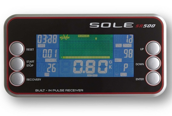 Sole SR500 performance monitor and display