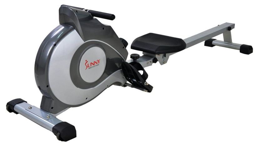 Sunny Health & Fitness SF-RW5515  rowing machine side view