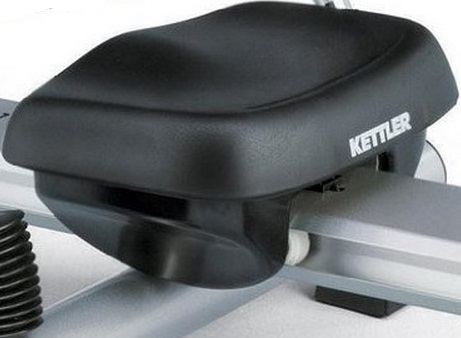 Seat on the Kettler Favorit rowing machine