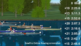 online racing program from RowPro