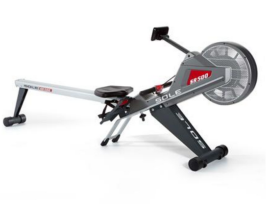SOle SR500 rowing machine side view