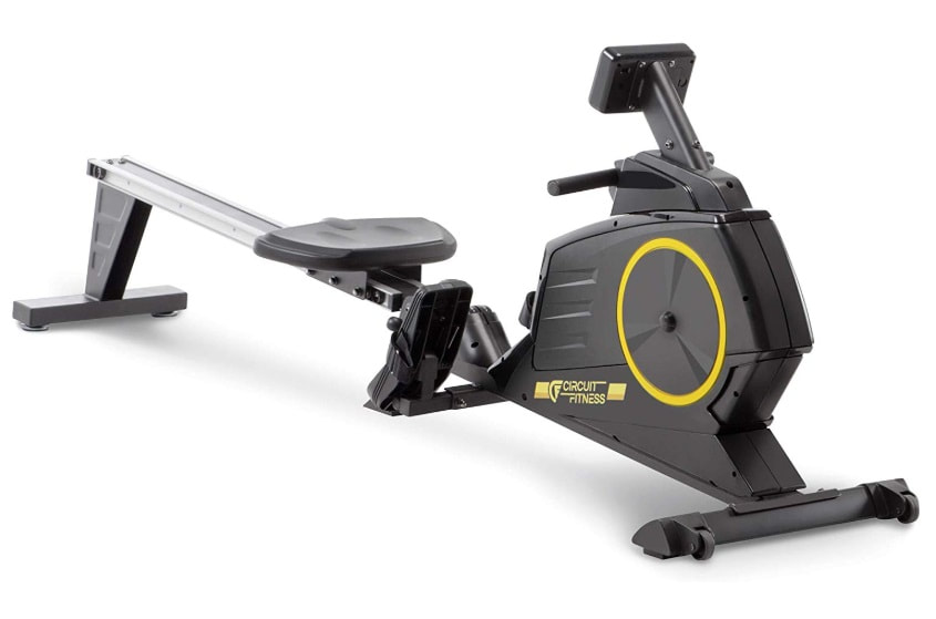 Circuit Fitness Deluxe Magnetic Rower side view