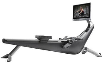 Hydrow rowing machine - side view