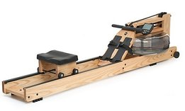 Waterrower natural with S4 monitor - profile view