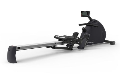 Schwinn Crewmaster rowing machine side view