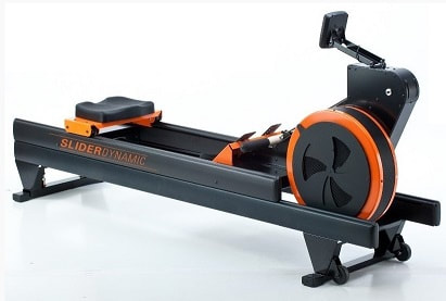The WaterRower Slider Dynamic rowing machine