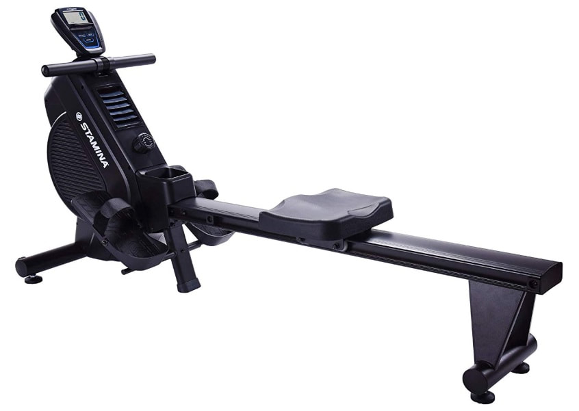 Side view of the Stamina DT 397 rowing machine