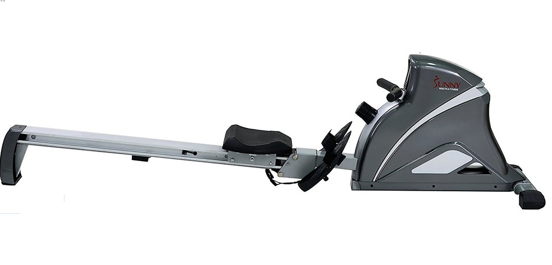 Sunny RW5508 magnetic rowing machine side view