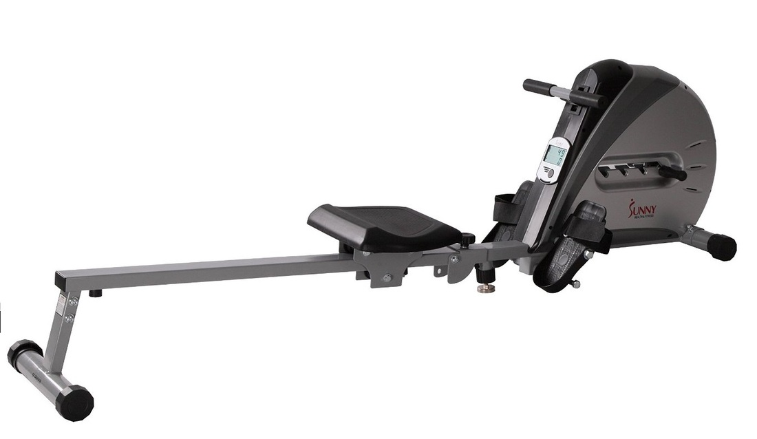 Sunny Health SF-RW5606 rowing machine side view