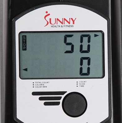 Sunny Health SF-RW5606 display and console