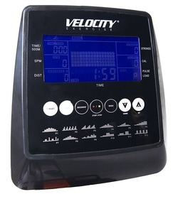 Velocity Fitness CHR-301 rower display and programmable console